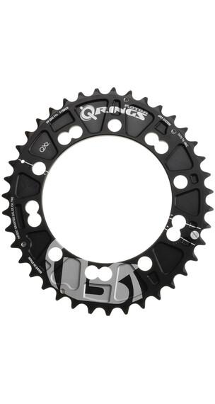 Rotor Q-Ring MTB QX2 Zębatka rowerowa na zewnątrz 110 mm czarny